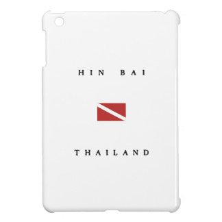 Hin Bai Thailand Scuba Dive Flag iPad Mini Cover