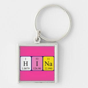 Hina name gifts on zazzle hina periodic table name keyring urtaz Image collections