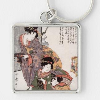 Hinamatsuri (el festival) del chica Kitagawa Utama Llaveros Personalizados