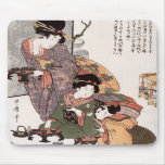Hinamatsuri (Girl's Festival) Kitagawa Utamaro Mouse Pads