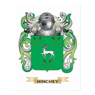 Hinchey Coat of Arms (Family Crest) Post Cards