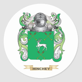 Hinchey Coat of Arms (Family Crest) Sticker