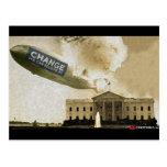 Hindenburg CHANGE Postcard
