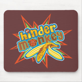 Hinder Monkey Mouse Pads
