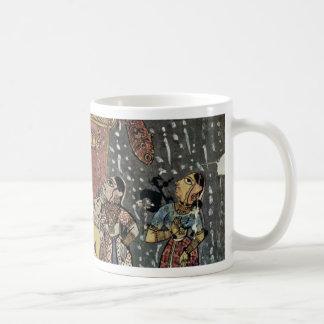 Hindola Raga By Virji Classic White Coffee Mug