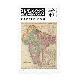 Hindoostan 2 postage