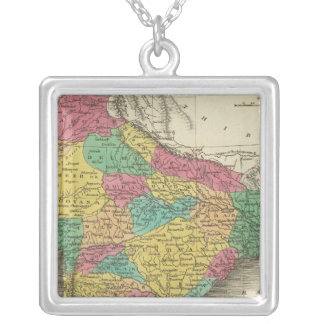 Hindoostan 3 silver plated necklace