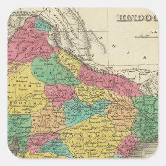 Hindoostan 3 square sticker