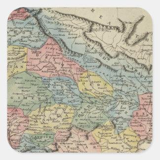 Hindoostan 5 square sticker