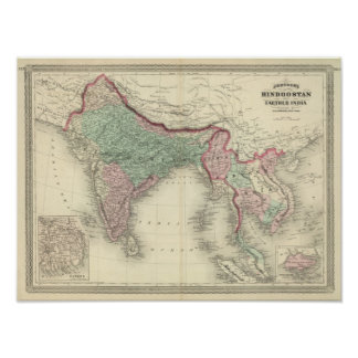 Hindoostan and Farther India Print