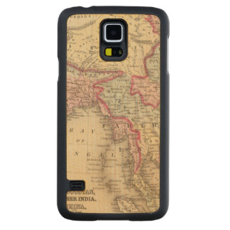 Hindoostan, Farther India, China, Tibet 2 Carved® Maple Galaxy S5 Slim Case