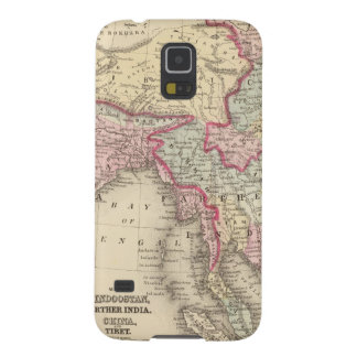 Hindoostan, Farther India, China, Tibet 2 Cases For Galaxy S5
