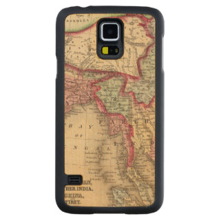 Hindoostan, Farther India, China, Tibet Carved® Maple Galaxy S5 Slim Case