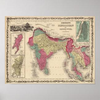 Hindostan o la India británica 2 Posters