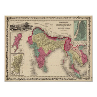 Hindostan Or British India 2 Poster