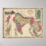 Hindostan Or British India 2 Print