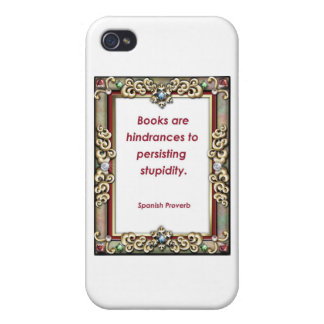 Hindrance to Stupidity iPhone 4 Case