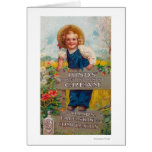 Hinds' Honey and Almond Cream Lotion Greeting Card