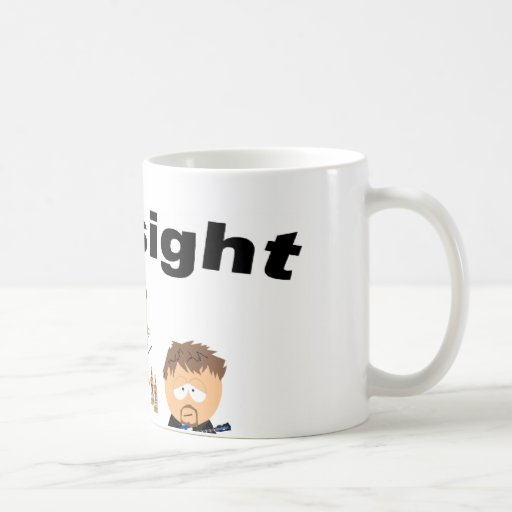 Hindsight Classic White Coffee Mug
