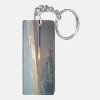 Hindsight Sunset Acrylic Sunset Keychain