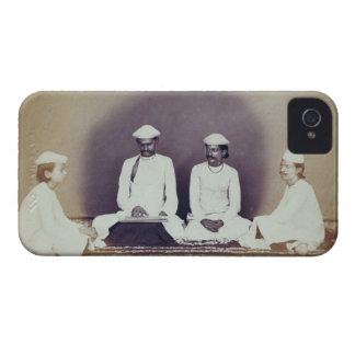 Hindu Brahmins in Delhi, 19th century (sepia photo Case-Mate iPhone 4 Cases