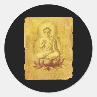 Hindu Buddha Classic Round Sticker
