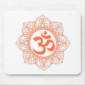 HINDU - BUDDHA SYMBOLS OM,OHM MOUSE PAD