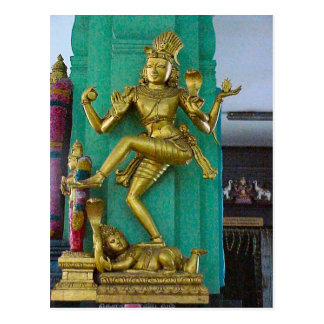 Hindu Chattiar temple, Statues of gods Postcard