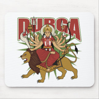 Hindu Durga Mouse Pad