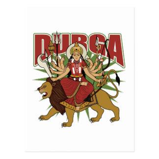 Hindu Durga Postcard