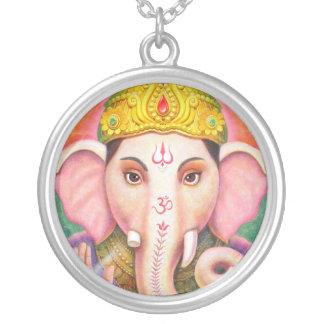 Hindu Elephant God Ganesha Necklace