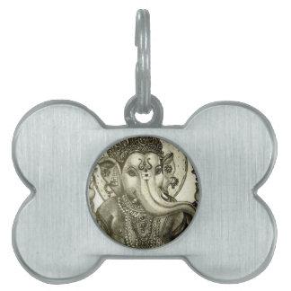 HINDU ELEPHANT GOD PET TAG