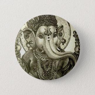 HINDU ELEPHANT GOD PINBACK BUTTON