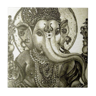 HINDU ELEPHANT GOD TILE