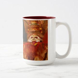 Hindu Epic Two-Tone Coffee Mug