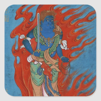 Hindu Folklore Square Sticker