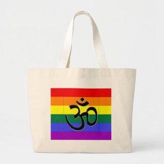 Hindu Gay Pride Canvas Bag
