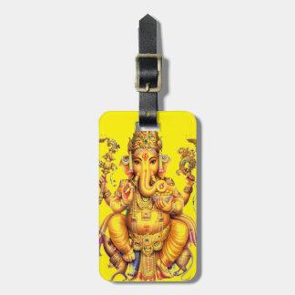 HINDU GOD GANESH BAG TAGS
