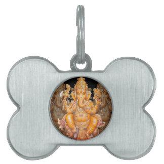 Hindu God Ganesh Pet Tags