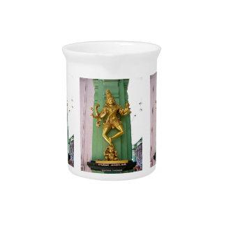 Hindu god drink pitchers