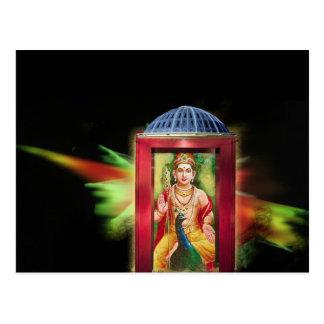 Hindu God Postcard