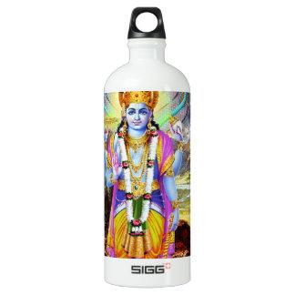 HINDU GOD VISHNU ALUMINUM WATER BOTTLE