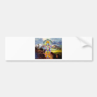 HINDU GOD VISHNU BUMPER STICKER