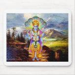 HINDU GOD VISHNU MOUSE PAD