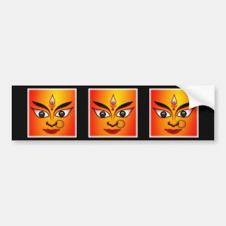 Hindu Goddess Durga Bumper Sticker