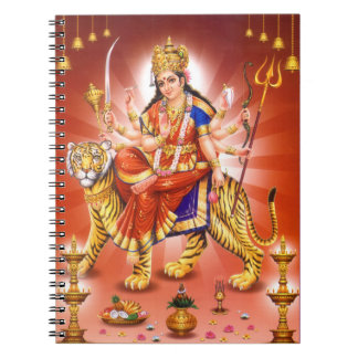 Hindu Goddess Durga Notebook