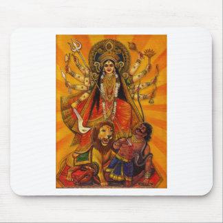 HINDU GODDESS DURGA VICTORY OVER EVIL MOUSE PAD