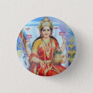 Hindu Goddess Lakshmi Devi Pinback Button