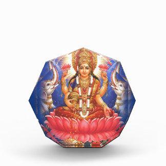 Hindu Goddess Laxmi Devi Mata Acrylic Award