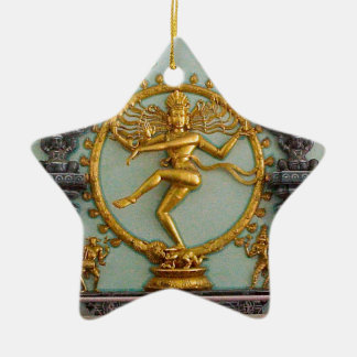 Hindu gods, Shiva Ceramic Ornament